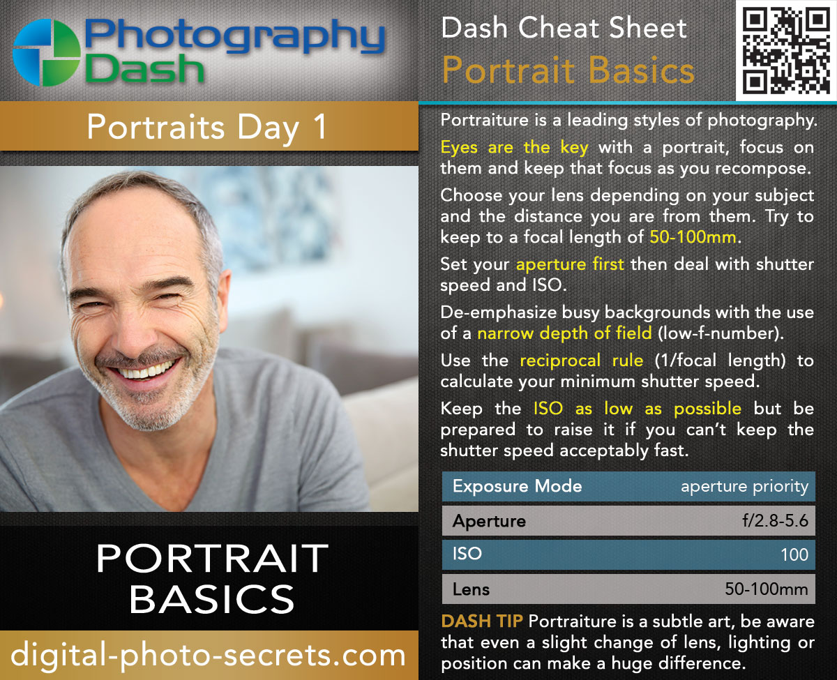 Portrait Photography Stream - All Course Material :: Digital Photo